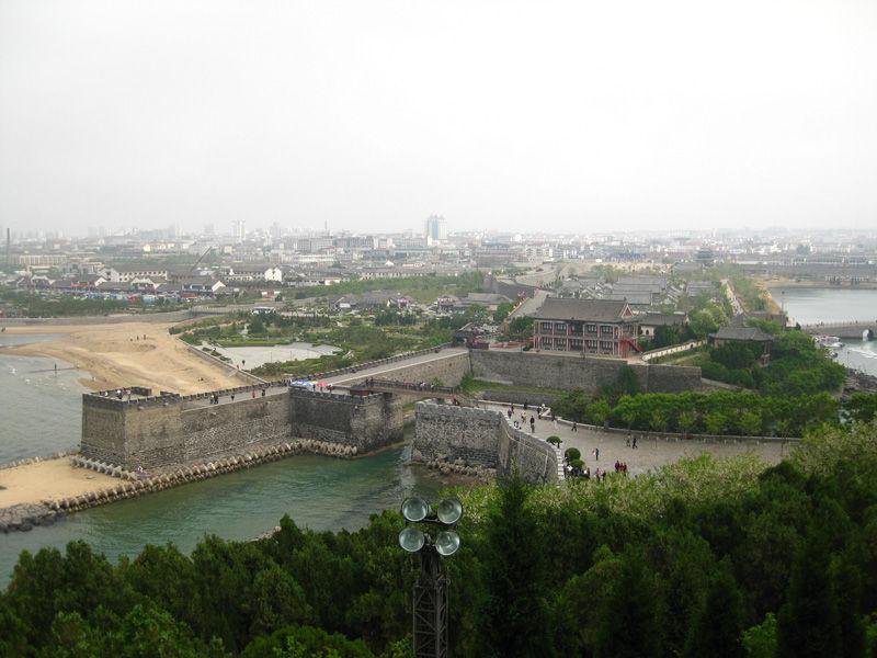 中国四大名楼之蓬莱阁