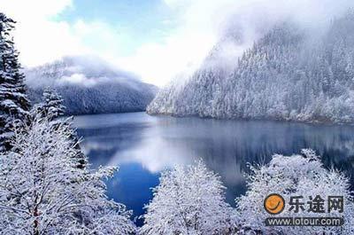 冬季九寨沟风貌